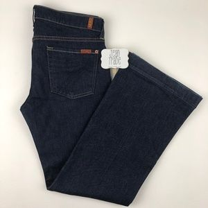 7 for all mankind dojo flare jean 30x29
